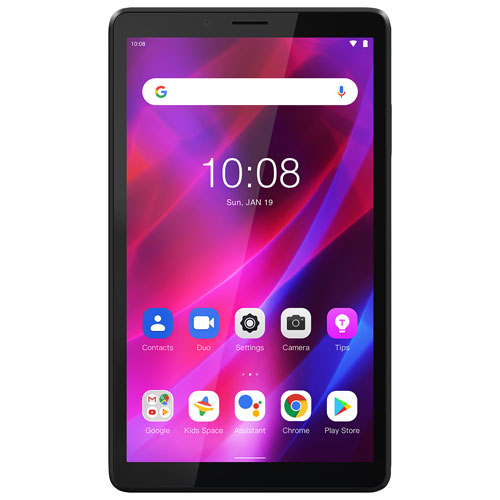"""Lenovo Tab M7 7"""" 16GB Android Tablet with MediaTek MT8321 4-Core Processor - Iron Grey"""