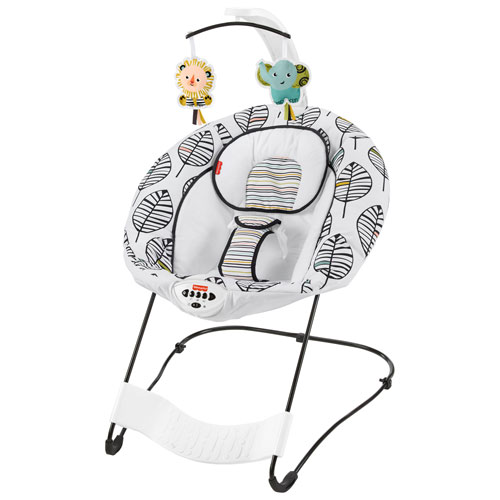 Fisher-Price See & Soothe Deluxe Bouncer - Falling Leaves