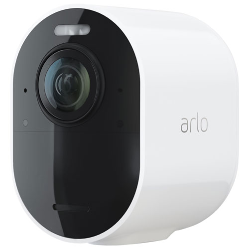Arlo Ultra 2 Wire-Free Outdoor 4K UHD Add-On IP Security Camera - White