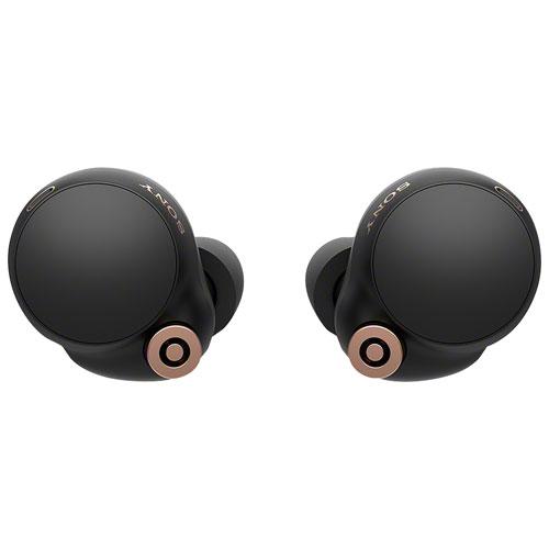 Écouteurs boutons 100 % sans fil à suppression du bruit WF-1000XM4 de Sony - Noir