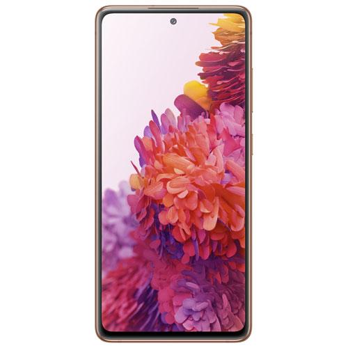 Shaw Samsung Galaxy S20 FE 5G 128GB - Cloud Orange - Monthly Tab Payment