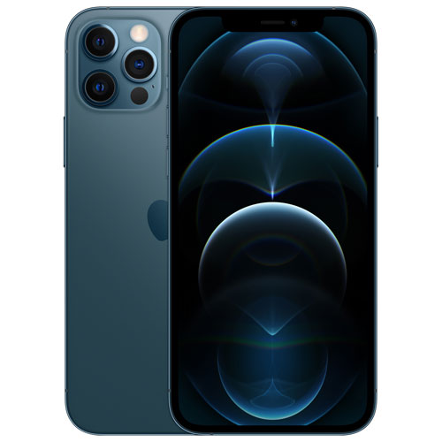 Shaw Apple iPhone 12 Pro 256GB - Pacific Blue - Monthly Tab Payment