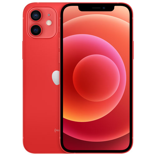 Shaw Apple iPhone 12 128GB - PRODUCT(RED) - Monthly Tab Payment