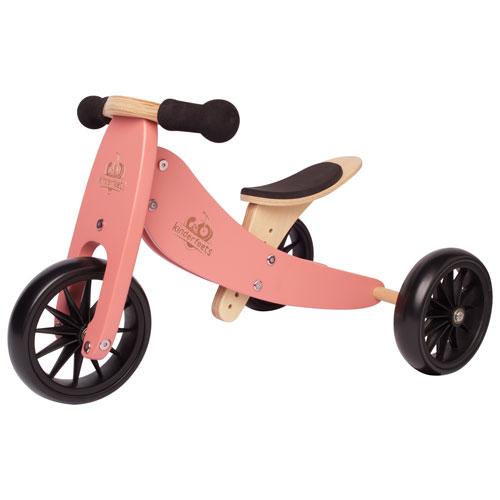 Kinderfeets Tiny Tot 2-in-1 Kids Balance Trike/Bike - Coral