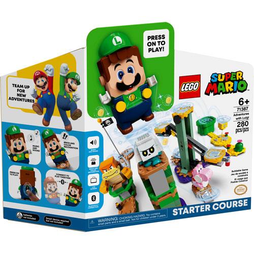 LEGO Super Mario: Adventures with Luigi Starter Course - 280 Pieces