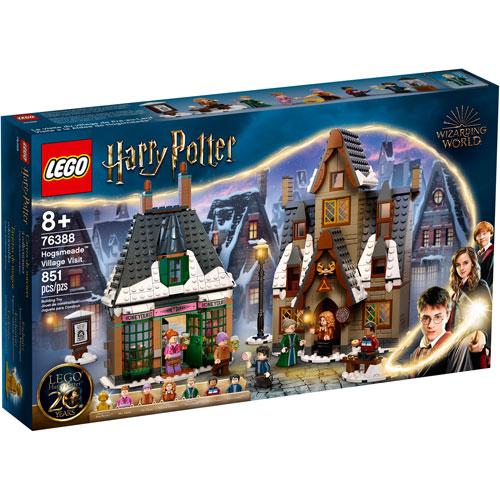 LEGO Harry Potter: Hogsmeade Village Visit - 851 Pieces