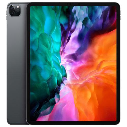 iPad Pro 12,9 po 256 Go d'Apple avec Wi-Fi et 4G LTE avec TELUS -Gris cosmique -Financement mensuel