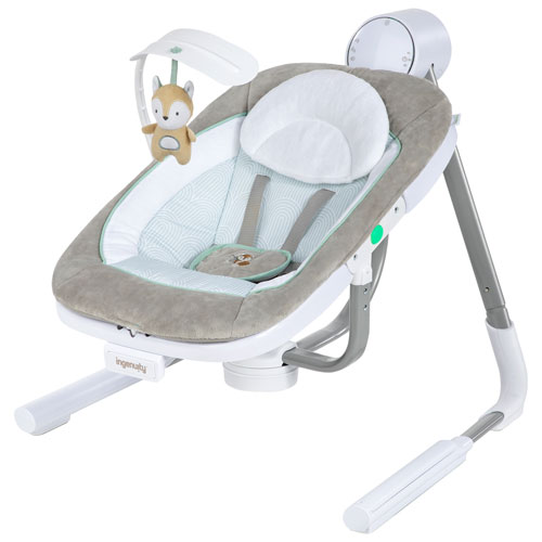 Ingenuity AnyWay Sway Portable Baby Swing - Grey