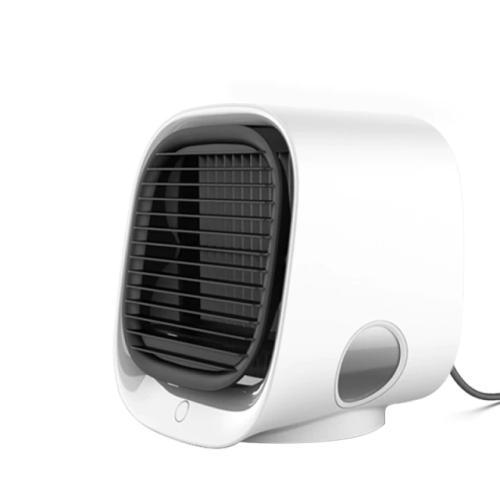 Mini climatiseur portable refroidisseur d'air ventilateur 7 couleurs lumière USB climatiseur 3 vitesses espace personnel ventilateur de refroidisseme