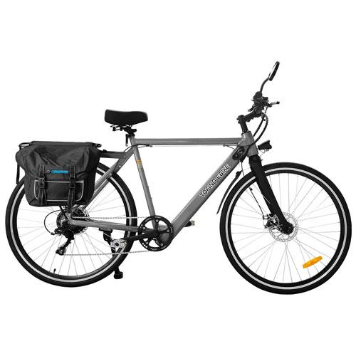 "Daymak Tofino X 350-Watt 29"" Electric Bike - Grey"