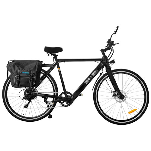 "Daymak Tofino X 350-Watt 29"" Electric Bike - Black"