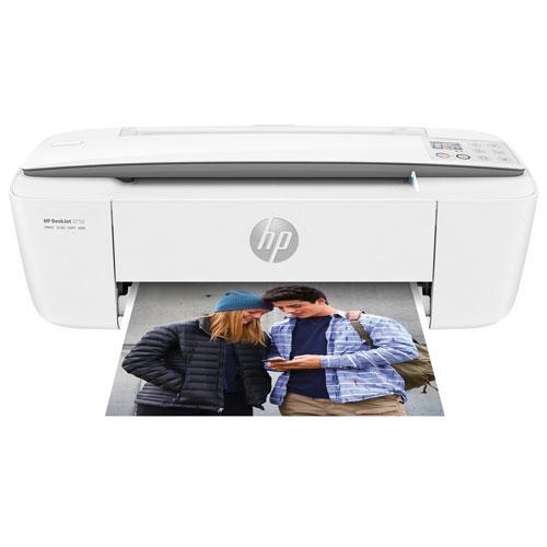 Imprimante à jet d'encre tout-en-un sans fil DeskJet 3752 de HP