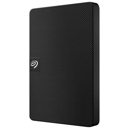 Seagate Expansion 1TB USB 3.0 Portable External Hard Drive - Black