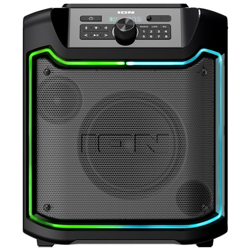 Ion Audio Trailblazer All-Weather Wireless Rechargeable Speaker with Qi Charging Pad
