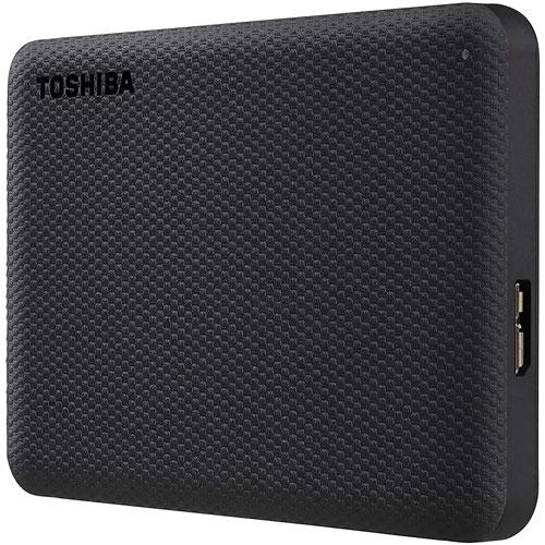 Toshiba Canvio Advance 4TB USB 3.0 External Hard Drive - Black