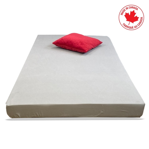 ViscoLogic AFFORD 2-Sided Flip able Reversible Foam Mattress Perfect for Bunk Bed, Trundle, Guest Bed and Caravan Bed