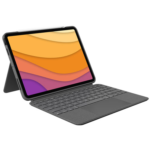 Logitech Combo Touch Keyboard Case for iPad Air - Oxford Grey