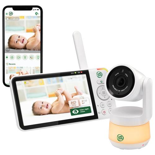 Interphone vidéo 5 po Wi-Fi vision nocturne/zoom/rotation/inclin. com. bidir. de LeapFrog