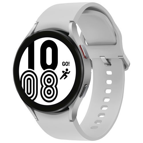 Samsung Galaxy Watch4 44mm Smartwatch with Heart Rate Monitor - Silver