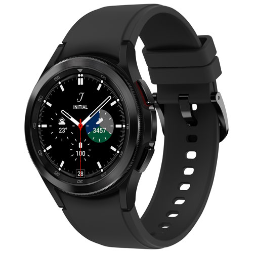 Samsung Galaxy Watch4 Classic 42mm Smartwatch with Heart Rate Monitor - Black