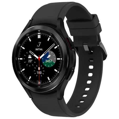 Samsung Galaxy Watch4 Classic 46mm Smartwatch with Heart Rate Monitor - Black