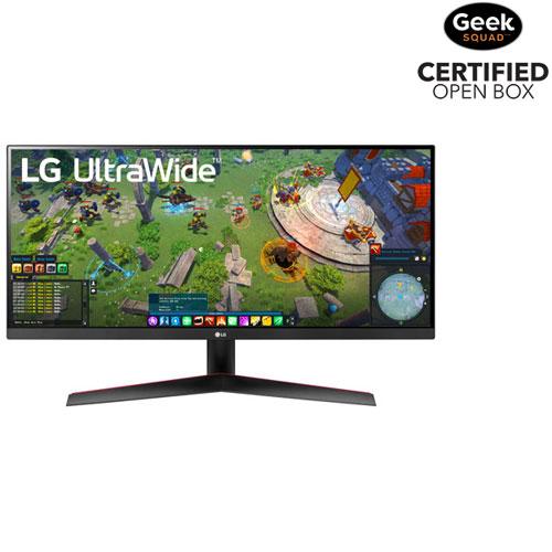 "LG 29"" FHD 75Hz 5ms GTG IPS LED FreeSync Gaming Monitor - Black - Open Box"