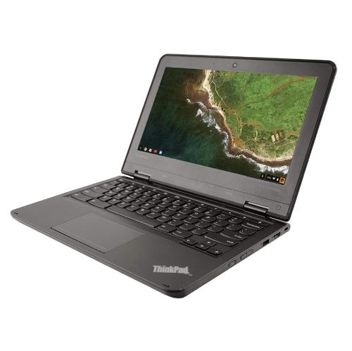 Lenovo Thinkpad 11e 20GF0001US Chromebook , Intel Celeron N3150 1.6Ghz, 4GB RAM , 16GB eMMC Storage, 11.IN Screen, Webcam, Chrome OS - Refurbished