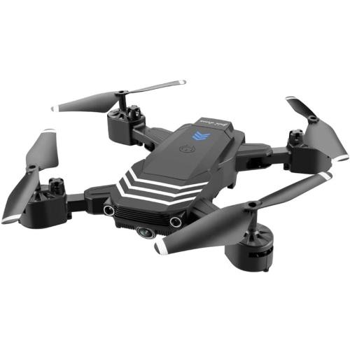 Drone 4K avec caméra vidéo en direct Drone pliable cool pour adultes débutants Quadricoptère WiFi FPV RC, maintien d'altitude Mode sans tête Une touc