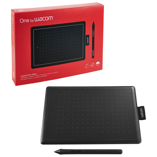 Wacom One Graphics Tablet with Sylus - Small