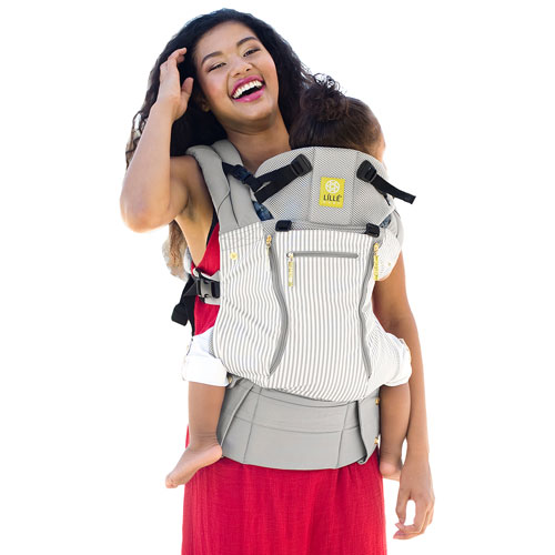 LILLEbaby Complete All Seasons Six Position Baby Carrier - Breton Stripes