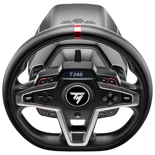 Volant de course T248 et pédales magnétiques de Thrustmaster pour PS5/PS4/PC