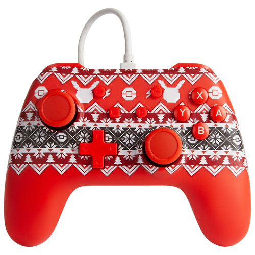 PowerA Wired Controller for Switch - Pokémon Holiday Sweater