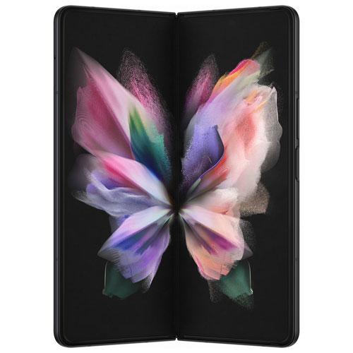 Galaxy Z Fold3 5G de 256 Go de Samsung offert par Koodo - Noir fantôme - Paiement Balance mensuel