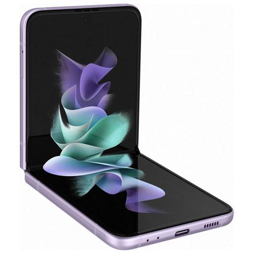 TELUS Samsung Galaxy Z Flip3 5G 128GB - Lavender - Monthly Financing