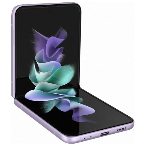 Galaxy Z Flip3 5G de 128 Go de Samsung avec Koodo - Lavande - Paiement Balance mensuel