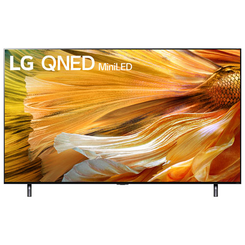 """LG 65"""" 4K UHD HDR MiniLED webOS Smart TV - 2021 - Light Black"""