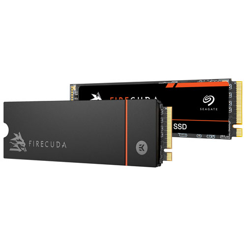 Seagate FireCuda 530 Heatsink 2TB NVMe PCI-e Internal Hard Drive