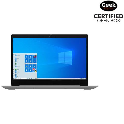 "Lenovo IdeaPad 3 15.6"" Laptop - Grey - Open Box"