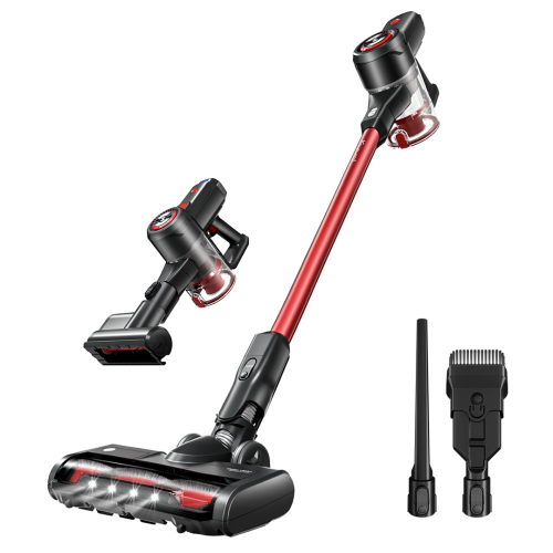 Kyvol V20 Cordless Vacuums, 25,000 pa Strong Suction, 40 mins Runtime, Lightweight, Detachable Battery, 2 in 1 Cordless Stick Vacuum for Deep Clean P