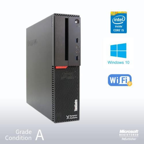 Refurbished Lenovo ThinkCentre M900 SFF Desktop, 6th Gen Intel i5 6500 3.2GHz/12GB / 960GB SSD/ Win10 Pro/Fast AC 600 WiFi USB