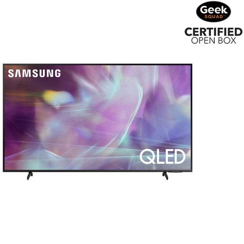 "Samsung 55"" 4K UHD HDR QLED Tizen Smart TV - Titan Grey - Open Box"