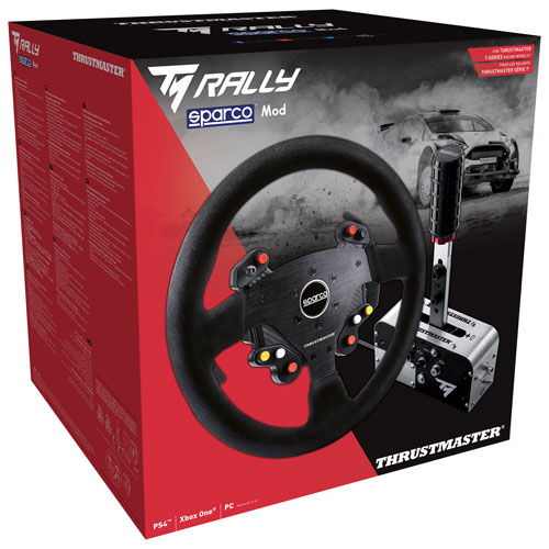 Thrustmaster Rally Race Gear Sparco Mod Add-on Kit