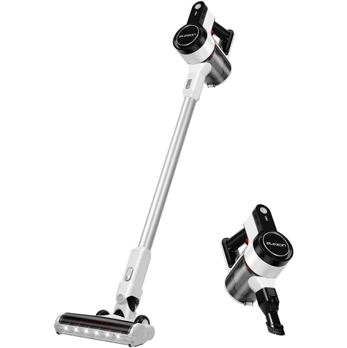 Cordless Vacuum Cleaner Rechargeable Powerful Stick Handheld Vacuum with HEPA Filter and 2 Suction Modes, Lightweight Vacuum for Carpet, Hard Floor,