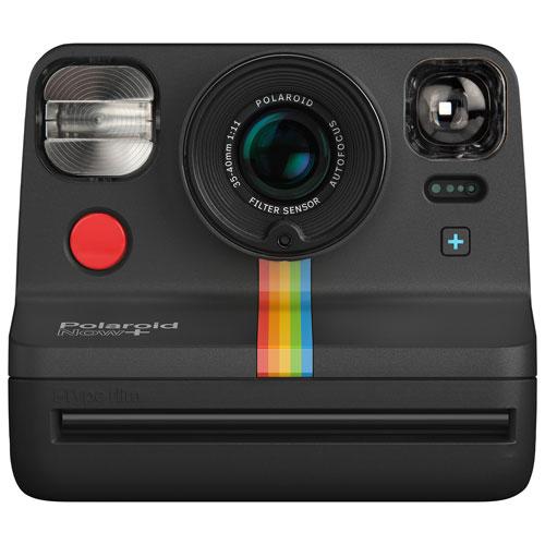 Appareil photo instantané Now+ de Polaroid - Noir