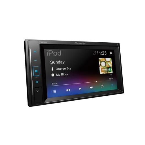"""Pioneer DMH-240EX 6.2"""" - Écran tactile en verre résistif, compatible avec la caméra de recul Bluetooth® - Récepteur multimédia numérique"""