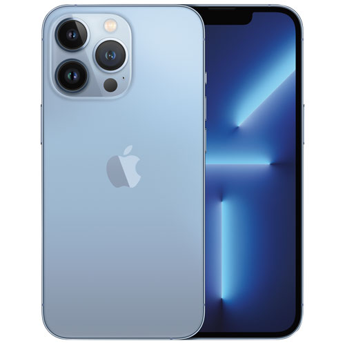 Fido Apple iPhone 13 Pro 128GB - Sierra Blue - Monthly Financing