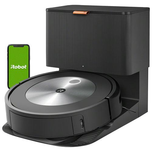 Aspirateur robot connecté Wi-Fi Roomba j7+ à vidage automatique d'iRobot