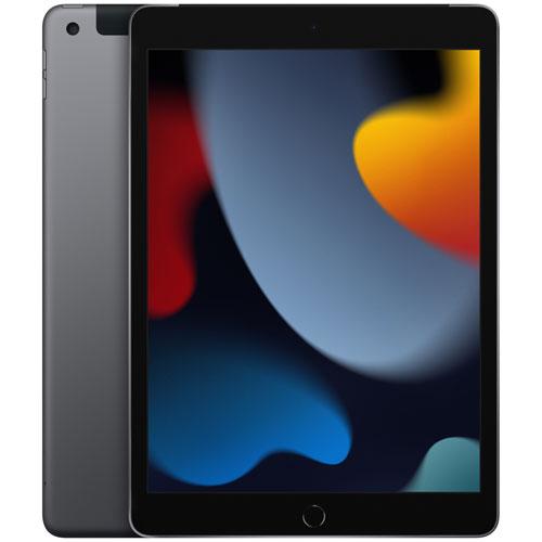 """Apple iPad 10.2"""" 256GB with Wi-Fi & 4G LTE - Space Grey"""