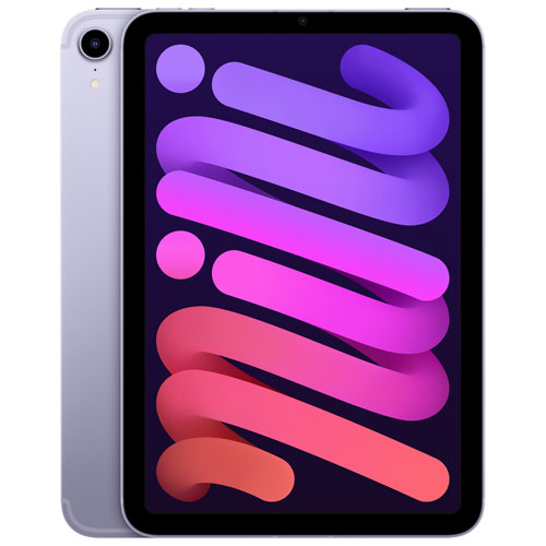 "Apple iPad mini 8.3"" 256GB with Wi-Fi & 5G - Purple"