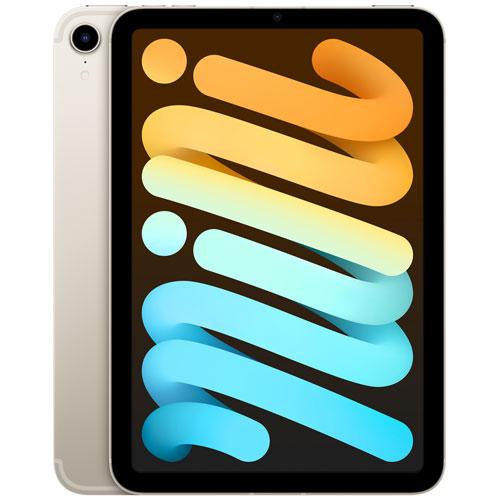 """Apple iPad mini 8.3"""" 64GB with Wi-Fi & 5G - Starlight"""